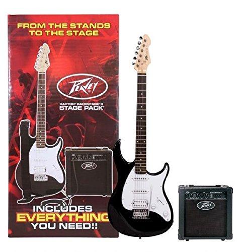 Peavey Raptor Plus Electric Stage Pack, Black