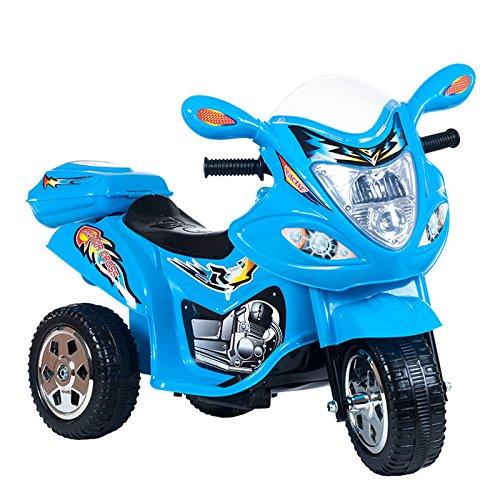 Lil-Rider-Blue-Baron-Motorized-3-Wheel-Battery-Powered-Bike-Includes-6-Bonus-Sport-Cones