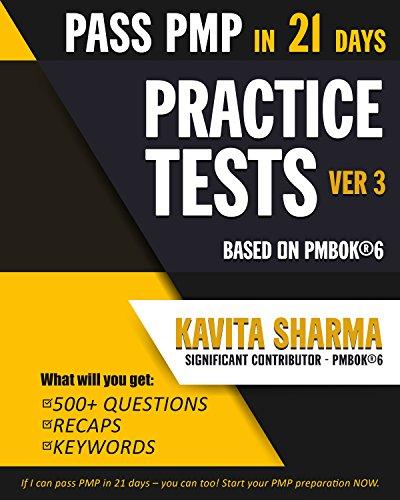 Pdf Free Download Pmp Practice Tests Pass Pmp In 21 Days Popular Ebook By Kavita Sharma Kjsgdsgyud76tdsgjhds