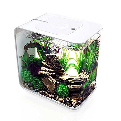 biOrb FLOW 30 Aquarium with MCR Light, White- 46885 by biOrb