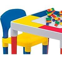 Mesinha Infantil com Cadeiras e Blocos de Montar Bell Toy