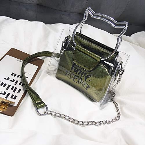 estate messenger verde borsa coreana verde tracolla versione a nbsp;Chao selvaggia estiva della WSLMHH piccola borsa borsa piccola bag qPgSH