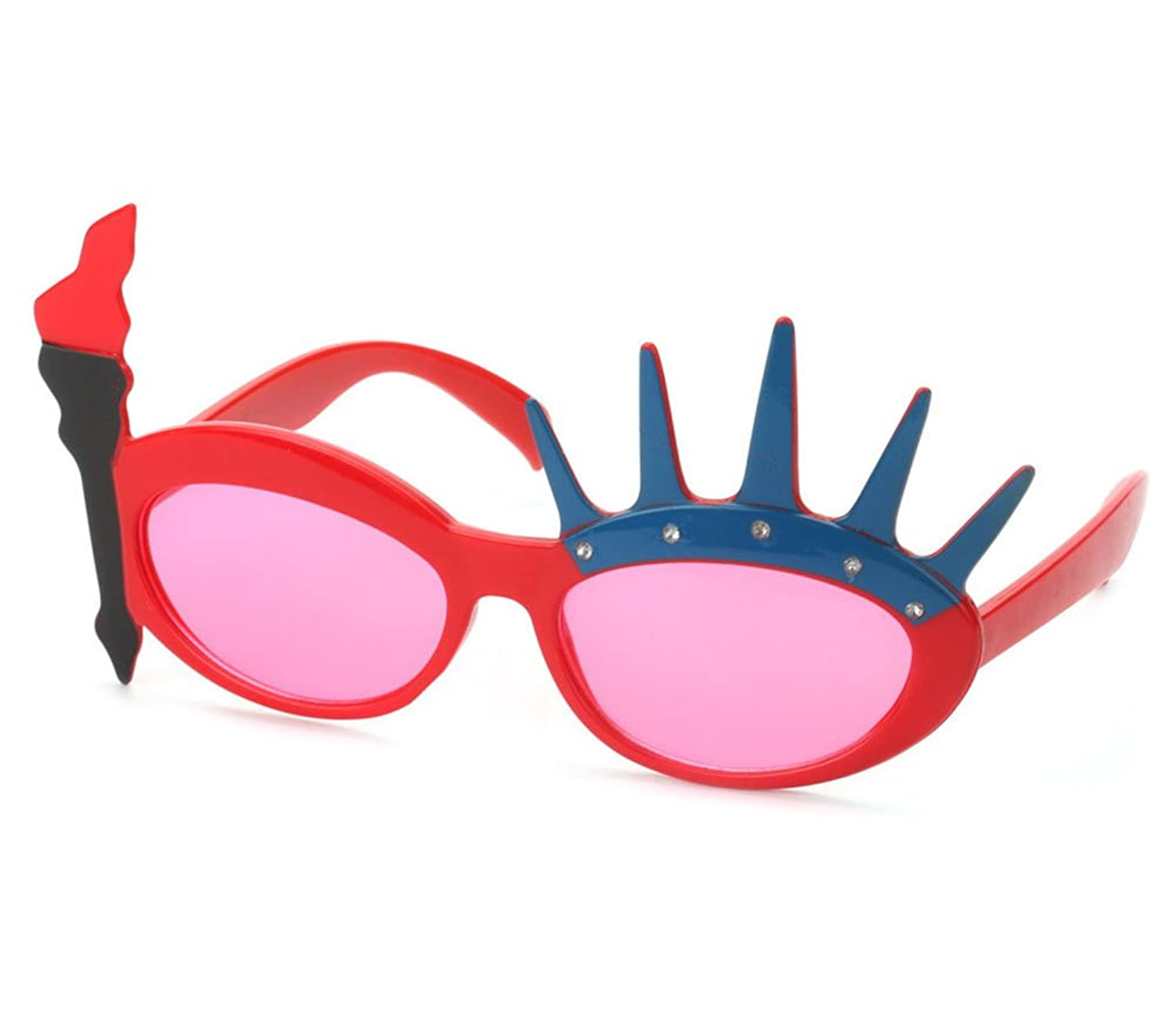 thinking of buying statue of liberty american flag shaped glasses