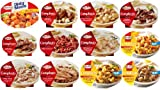 Hormel Compleats Meals – 12 VARIETY FLAVORS (12 – 7.5 Ounce to 10 Ounce Microwavable Bowls) Homestyle and Good Mornings Meals