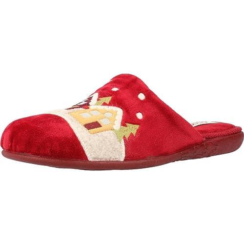 Boutique en ligne 1c5f3 ec6a0 Zapatillas de Estar por casa de Mujer, Color Negro, Marca VULLADI, Modelo  Zapatillas De Estar por Casa De Mujer VULLADI 4204 140 Negro