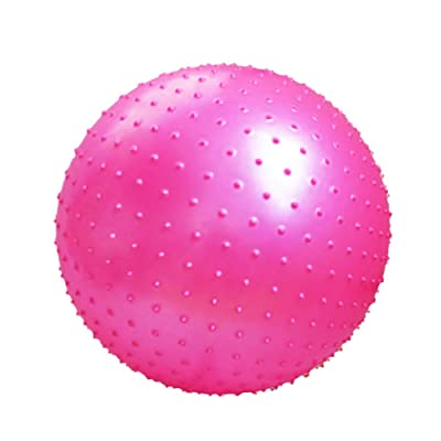 Épaississent yoga balle boule de massage Keep Fit For Adult-Rose rouge