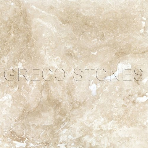 (Ivory Commercial Travertine 18 X 18 Filled and Honed Field Tile)