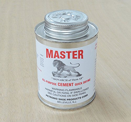 (The Leather Guy Masters All purpose quick dry Cement Leather wood 8 oz)