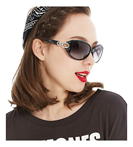 Gee-Look New Retro Fashion Womens Polarized Wayfarer - Reyban Glass