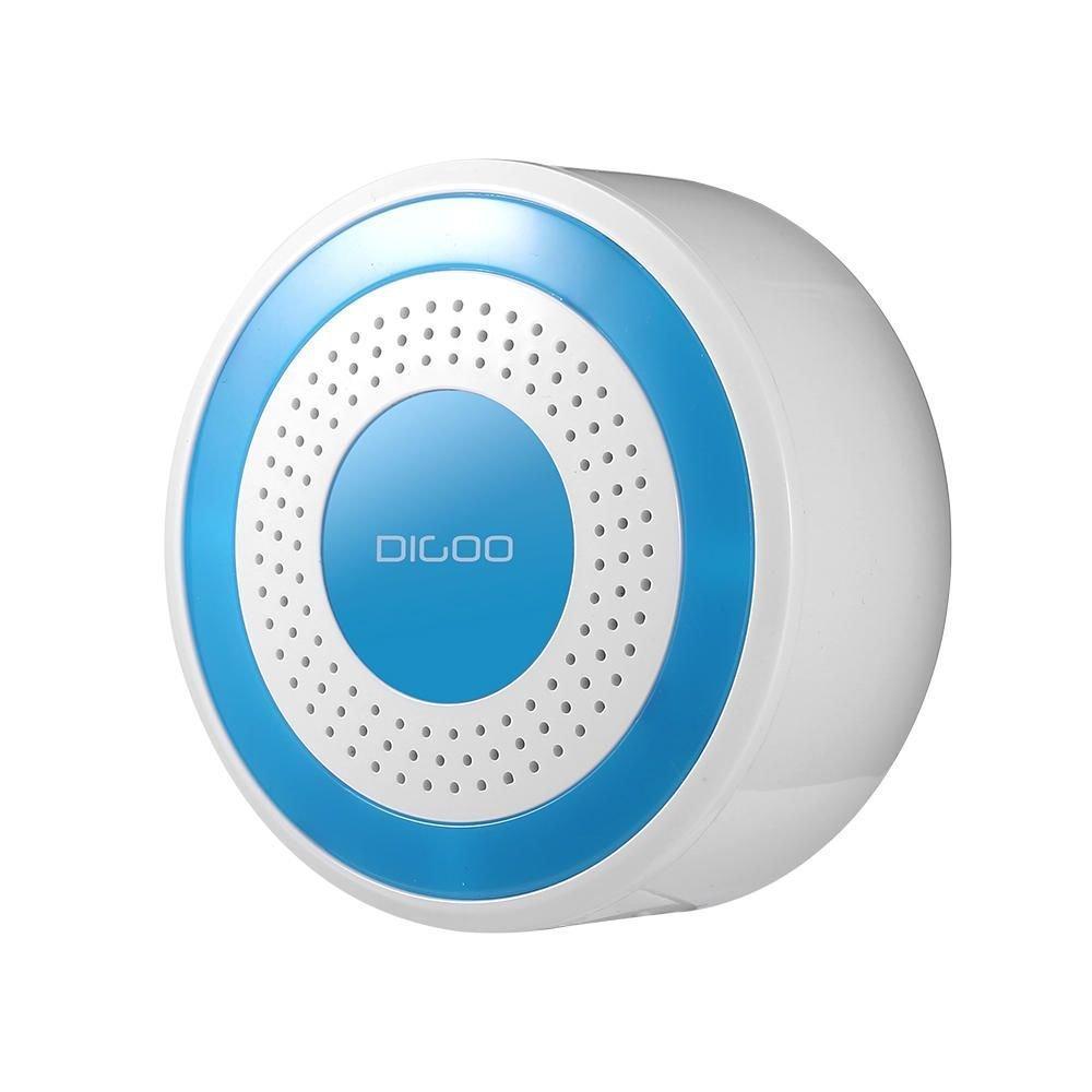 Digoo DG-ROSA 433MHz Wireless DIY Standalone Alarm Siren Multi-function Home Security Alarm Systems Wifi Alarm System Wireless Alarm for Home by scoutBAR
