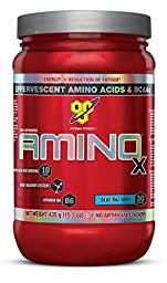 BSN AMINO X - Blue Raz, 15.3 oz (30 Servings)