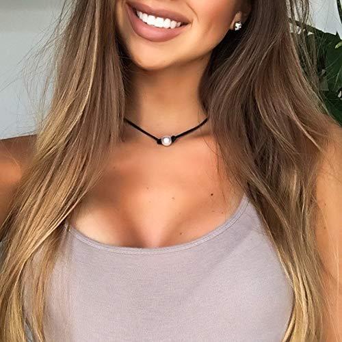 S-Wyatt-Single-Pearl-Choker-Necklace-Genuine-Leather-Cord-Handmade-Jewelry-Set-for-Women-Necklace-Bracelet-Stud-Earrings