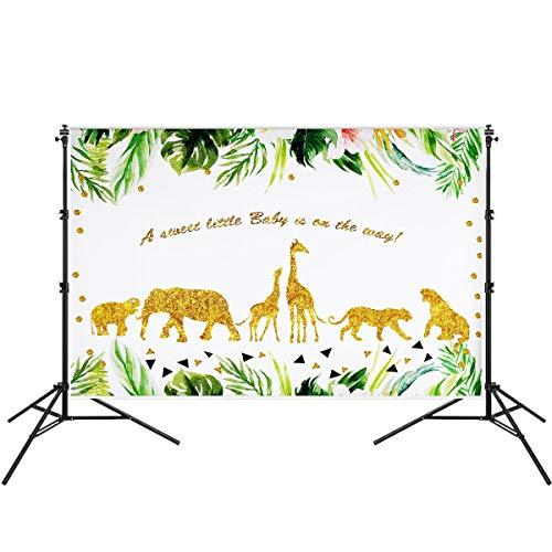 Petmany Wild Jungle Theme Backdrop Wild Animals Photography Background Baby Shower Birthday Photography 7ftx5ft -