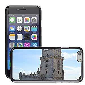 """Hot Style Cell Phone PC Hard Case Cover // M00170739 Tower Of Bethlehem Lisbon Portugal // Apple iPhone 6 4.7"""""""