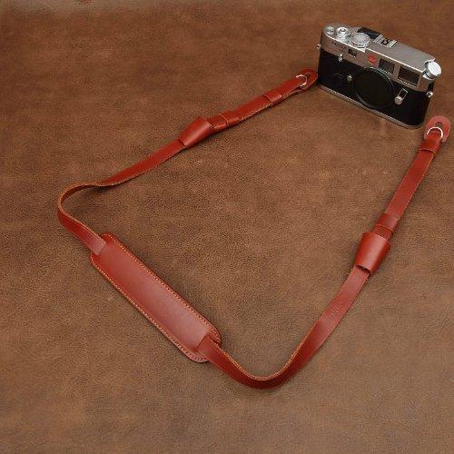 CowboyStudio Bein Adjustable Handmade Genuine Leather Camera Shoulder Neck Strap, 2727 by CowboyStudio