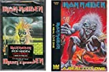 Iron MaidenSet of 2 Brand New Cassettes - Self Titled and A Real Live One