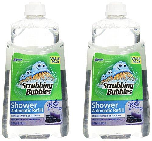 Scrubbing Bubbles Automatic Cleaner (Scrubbing Bubbles Automatic Shower Cleaner Refill - Refreshing Spa - 34 oz - 2 pk)