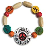 S&S Worldwide Kindness Bracelet Craft Kit (Makes 24)