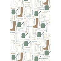 2019 Planner: Daily Weekly & Monthly Organizer Watering Can & Wellington Boots Gardening Cover