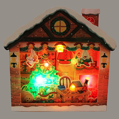 SANRIO Jolly Illuminated Christmas Home Lights and Melody Pop Up Greeting Card