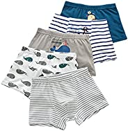 URVIP Boy's Boxer Briefs Toddler Underwear Cotton with Assorted Colors 5