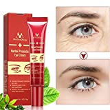Exteren Eye Cream Gel For Dark Circles Puffiness Wrinkles Bags Most Effective Anti-Aging Skin Care Accessories (Red)