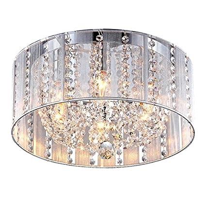 Luxury Flush Mount Pull Chain Light