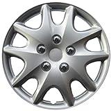 """Drive Accessories KT-1009-14S/L, Toyota Solara, 14"""" Silver Replica Wheel Cover, (Set of 4)"""