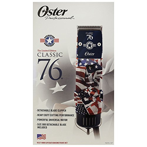 Oster Classic 76 Detachable Blade Operation Home Front Professional Clipper