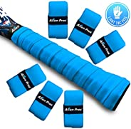 Alien Pros Tennis Racket Grip Tape (12 Grips) – Precut and Light Tac Feel Tennis Grip – Tennis Overgrip Grip T