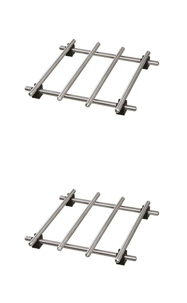 Ikea Trivet (2 Pack) Lamplig Stainless Steel 7 X 7''