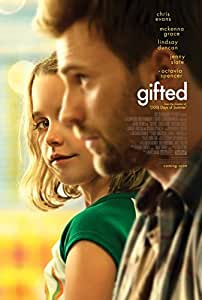GIFTED (2017) Authentic Original Movie Poster - Dbl-Sided -27x40 -