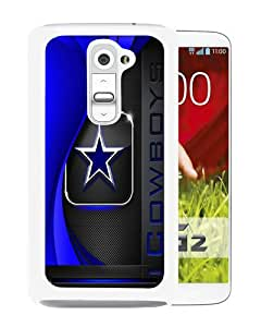 Fashionable And Unique Designed Case For LG G2 Phone Case With Dallas Cowboys 2 White