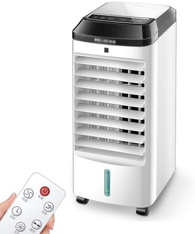 Climatizadores evaporativos Climatizador Evaporativo Climatizador Portátil Frío Ventilador De Torre con Aromatización del Aire 3 Velocidades Función (Color : Blanco, Size : 23 * 26 * 60cm): Amazon.es: Hogar