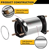 Catalytic Converter Compatible with 2004-2008 Chevy Chevrolet Aveo / Aveo5 1.6L Direct-Fit High Flow Series