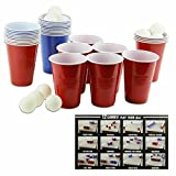Splash Cup Sport Pong Game - 18 Balls, 30 Cups for 12 Different Games by Sport fix