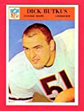 Dick Butkus 1966 Philadelphia Gum Co. Football ROOKIE Reprint Card with Original Back (Bears)