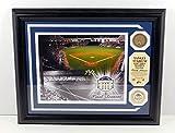 Highland Mint Yankee Stadium Photo with Coin and Dirt MLB COA Framed DA025240 - MLB Game Used
