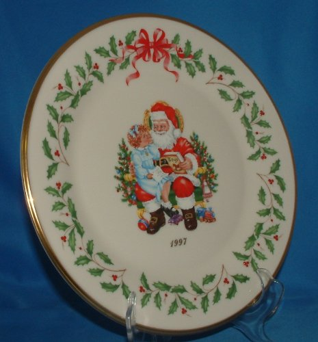 Lenox 1997 Annual Holiday Collector Plate Home for the Holidays