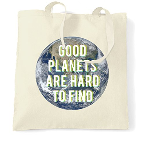 good-planets-are-hard-to-find-eco-earth-environment-shopping-carrier-tote-bag