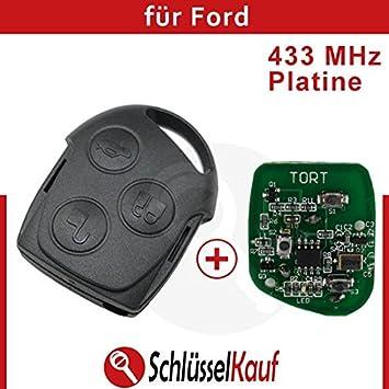 Umbau Klapp Schlüssel Fernbedienung für Ford Fiesta Focus Ka Mondeo Puma Transit