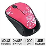 Logitech M317 Wireless Mouse (Peppermint Candy) (Certified Refurbished)