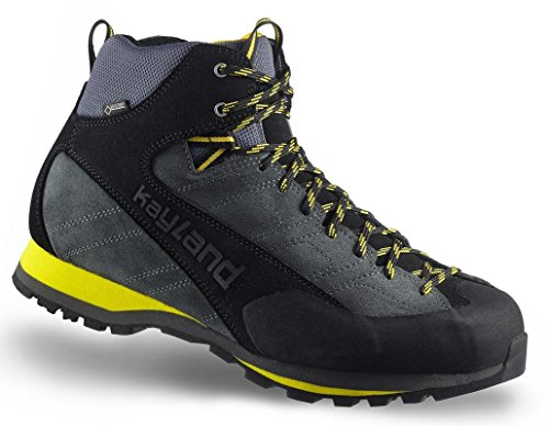 Kayland Shoes man Vertex MID GTX Grey-Yellow Gray-Yellow