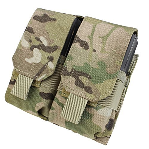 Condor Outdoor Double M-14 Mag Pouch Gen II Color- Multicam (M14 Mag Pouches)