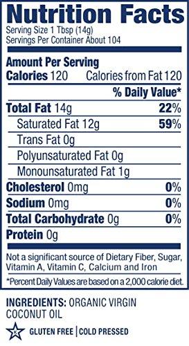 Vita Coco Organic Virgin Coconut Oil, 54 Oz - Non GMO Cold Pressed Gluten Free Unrefined Oil - Used For Cooking Oil - Great for Skin Moisturizer or Hair Shampoo - BPA Free Plastic Jar by Vita Coco (Image #9)