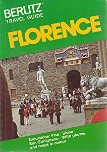 Paperback Berlitz Travel Guide to Florence Book