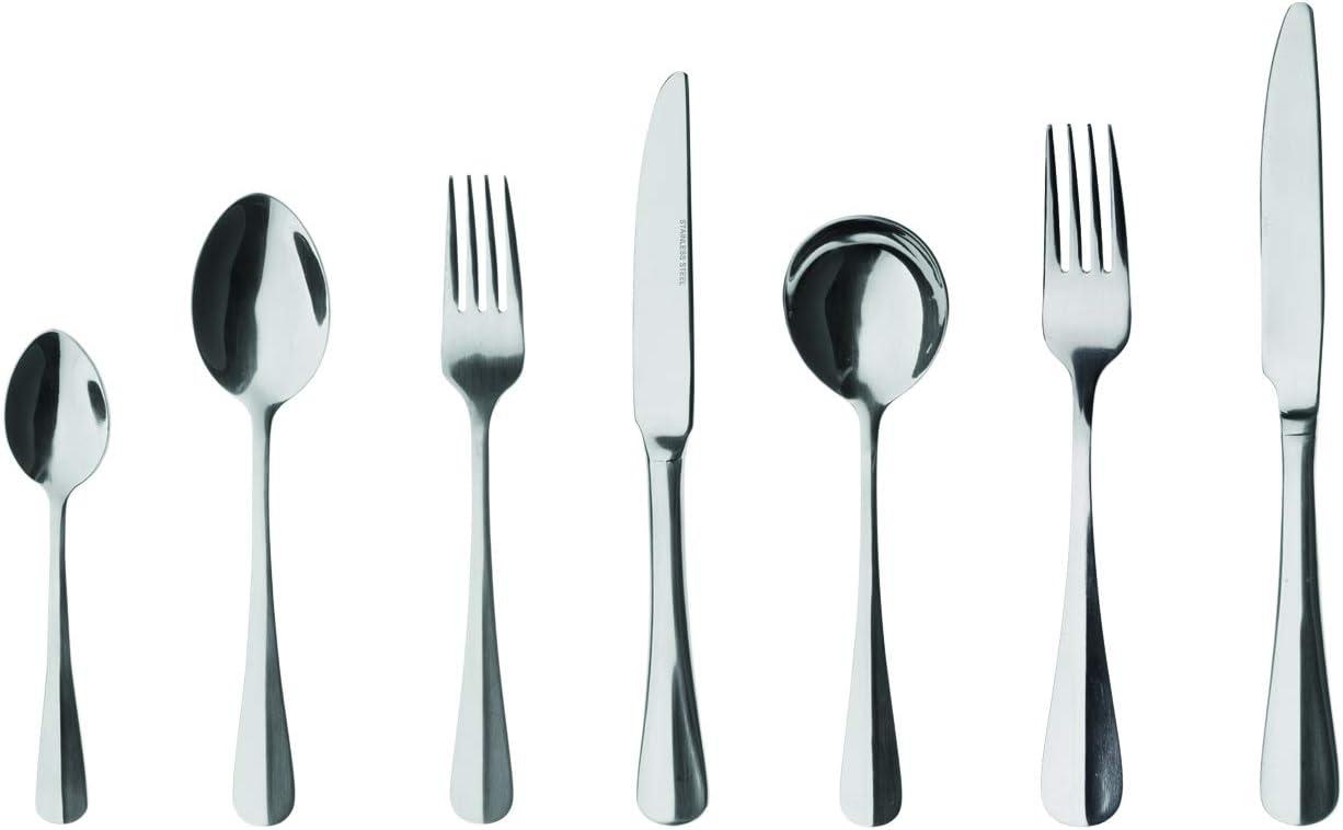 Finitura a Specchio /Confezione da 12 Everyday Parish Collection/ Grunwerg Baguette Modello cucchiai da Dessert in Acciaio Inox 18//0