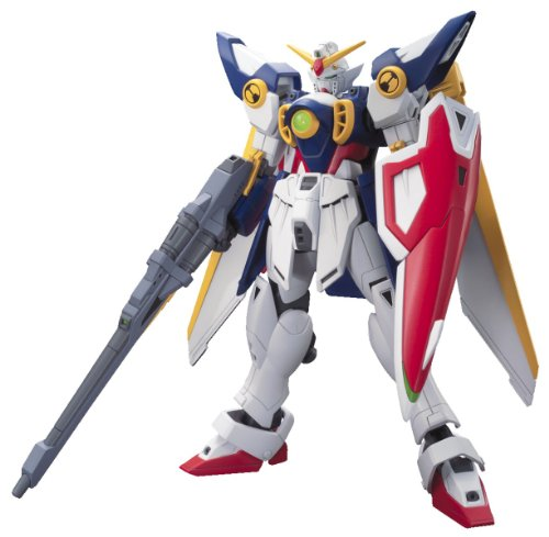 Bandai Hobby 162 HGAC XXXG-01W Wing Gundam Model Kit, 1/144 (144 Scale Plastic Kit)