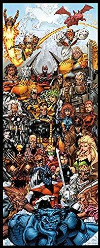 - Marvel X-Men by Jim Lee Door Poster
