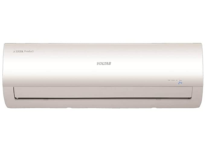 Voltas 1 5 Ton 3 Star Inverter Split AC (Copper, 183V CZT/183 VCZT2, White)